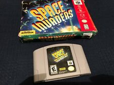 Space Invaders (Nintendo 64, 1999) Original box and cartridge