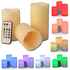 The Original Wax LED Flameless Color Changing Candles with Remote