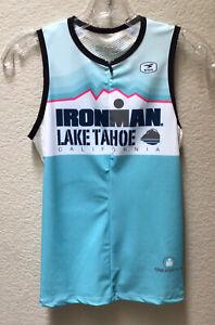 Sugoi Ironman Bike Cycling Jersey Lake Tahoe California Women's Size Medium
