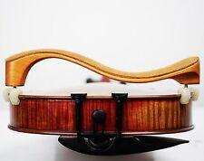 Professional Wooden Violin Shoulder Rest with Leather Padding Adjustable 3/4 4/4
