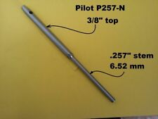 "Pilot for all 3/8"" top valve seat cutting systems. .257"" (6.52mm) stem size"