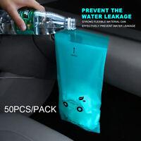 50PCS/PACK Self-Adhesive Disposable Car Biodegradable Trash Rubbish Bags r