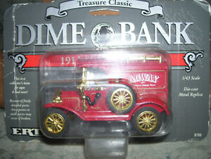 Ertl Collectable Dime Bank 1/43 Scale AGWAY 1913 Model T Van , New In Box