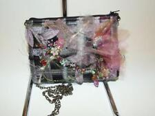 Mary Frances Beaded Silk Floral Evening Bag Handbag Purse NWOT