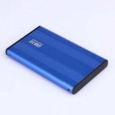Tragbar USB 3.0 externe 2,5 Zoll SATA SSD Festplatte Gehäuse HDD Gehäuse Fall