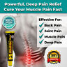 NEW ALL NATURAL HERBAL MUSCLE PAIN RELIEF CREAM OIL BACK KNEE NECK DEEP POWERFUL