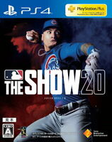 MLB The Show 20 Sony Playstation 4 PS4 English Version From JP F/S Tracking NEW