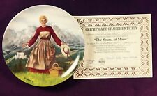 1986 Knowles The Sound Of Music Collectors Plate # 1 12689K Np10