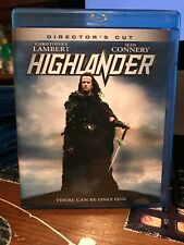 Highlander Blu-Ray Andy Armstrong(Dir) 1986 Lambert Connery Can Be Only One!