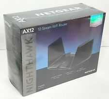 NETGEAR Nighthawk AX12 12-Stream AX6000 Wi-Fi 6 Router - Brand New & Sealed