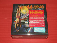 FREE SHIP DEF LEPPARD CD COLLECTION VOL.1 JAPAN 6 SHM CD + 1 CD SINGLE