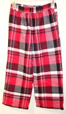 New Lands' End Plaid Flannel Sleep Pant Boy's Size 4