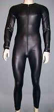 MANSTORE M 510  Allover Suit Full Body  black M  L  oder XL verlängerter Zip