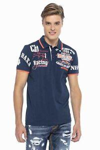 Cipo & Baxx Men's Boys Party Polo Shirt CT603 short Sleeve