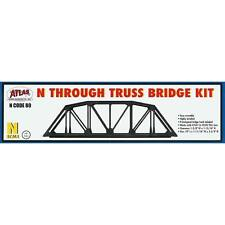 NEW Atlas Code 80 Truss Bridge Silver N 2571