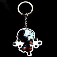 FPS GAME OW Pendant Key Ring keychian Zenyatta Acrylic Key Buckle Accessories A