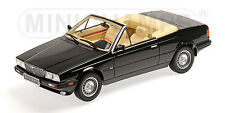 MINICHAMPS 1986 MASERATI BITURBO SPIDER Black 1:18*New Item!