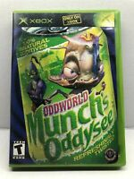 Oddworld: Munch's Oddysee (Microsoft Xbox, 2001) Complete w/ Manual - Tested