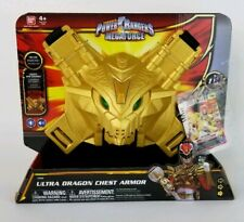 POWER RANGERS MEGAFORCE ULTRA DRAGON CHEST ARMOR 2013 BANDAI W/CARD NEW