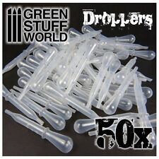 50x Airbrush Pipetten Set - Modellbau Airbrush Spritzpistole Dosierpipette
