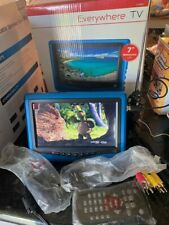 Everywhere TV Portable Widescreen LCD Display with HD Digital TV Tuner New