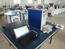 Machine de gravure de marquage laser à fibre portable de 20 W