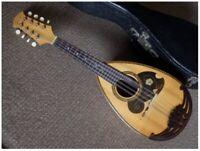 Used No. 226 1966 Suzuki Violin Mandolin With Hard Case from Japan #05