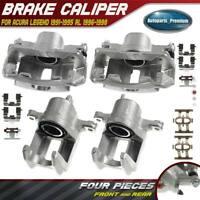 Pour VW Transporter 2003-2015 Avant L /& R brake caliper Slider Bolt Kit H1441AX