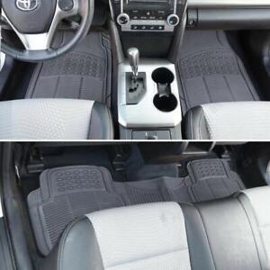 Weatherproof Grey Auto Floor Mats For Toyota 4 Runner Landcruiser Prado Kluger
