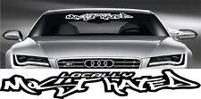 LOCALLY MOST HATED! funny car van window sticker JDM DRIFT STANCE VW BMW VINYL