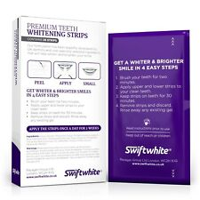Teeth Whitening Strips, Peroxide-Free Luxe 3D Tooth Whitening Strips,