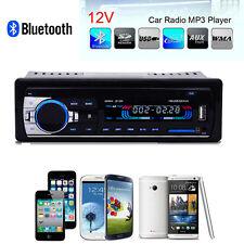 Bluetooth Car Stereo Audio 1 DIN In-Dash FM Aux Input Receiver SD USB MP3 Radio