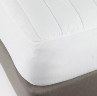 Made by Design Twin Comfort Mattress Pad, White, Brand New