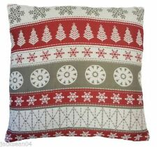 Christmas Floral Decorative Cushions & Pillows