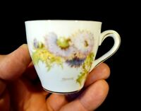 Beautiful Royal Doulton Glamis Thistle Demitasse Cup