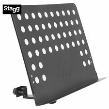 Stagg MUS-ARM 2 Large Perforated Music Stand Attachable Arm Holder Clamp On