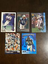 Randy Moss (10) Card Lot With Inserts