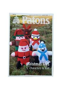 PATON CHRISTMAS TOY KNITTING PATTERN. EASY.