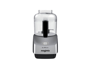 Magimix Le Micro 0.8L Mini Chopper - Silver - Made in France - 18115