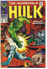 The Incredible Hulk #108! NEAR MINT/VERY FINE - GREAT COND. (Oct 1968, Marvel)