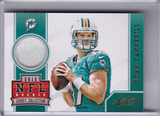 2012 PANINI ABSOLUTE #28 RYAN TANNEHILL ROOKIE RC JERSEY MIAMI DOLPHINS A034