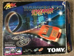 Tomy AURORA AFX Thunderloop Screamer HO Scale Slot Car Set