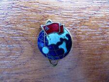 USSR, Russian Soviet Space Program, First Satellite 1957. Propaganda Pin Badge.