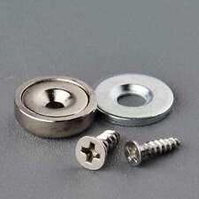 6SET 6.5KG Neodymium Cup Magnet Magnetic Latch Catch Wood Cabinet Door Hinge