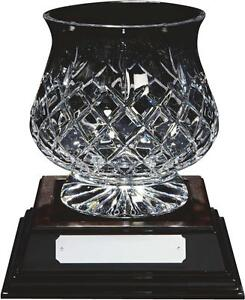 24% Lead Engravable Crystal Glass Golf & Corporate Trophies FREE ENGRAVING
