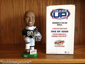 Jerry Rice OAKLAND RAIDERS Hall of Fame Legend Bobble Bobblehead 1 of 1,000