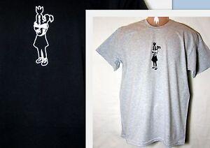 T-Shirt  * Banksy   Bomb Girl  S - XXL