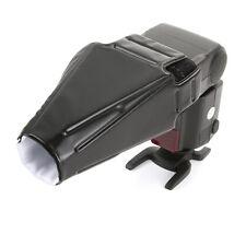 Flash Gun Snoot Softbox Diffuser Reflector Sealed Beam fr Canon Nikon Speedlight