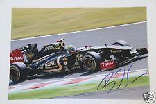 Bruno Senna  (Formel1) 20x30cm Foto +  Autogramm / Autograph in Person