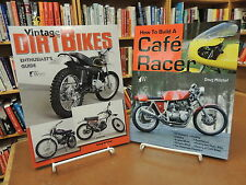 2 BK Lot: Vintage Dirt Bikes Enthusiast Guide & How To Build Cafe Racer Mitchel